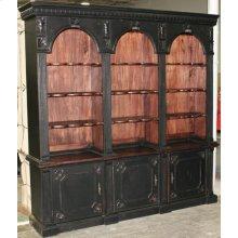 3-Arch Bookcase