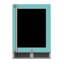 "24"" Hestan Outdoor Dual Zone Refrigerator with Wine Storage (UV-Coated Glass Door) - GRWG Series - Bora-bora"
