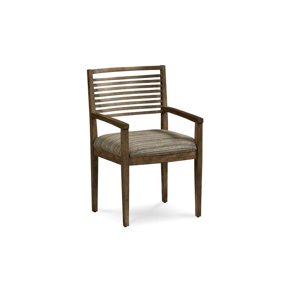 Epicenters Williamsburg Slat-Back Arm Chair