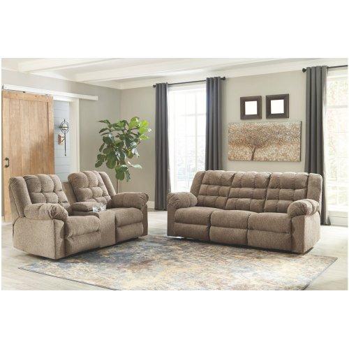 Ashley Reclining 5840188, 5840194 sofa & reclining console loveseat