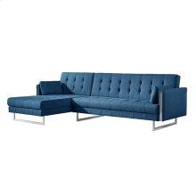 Palomino Sofa Bed Left Blue