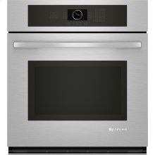 "Single Wall Oven, 27"", Euro-Style Stainless Handle"