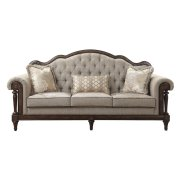 Sofa with 3 pillows Product Image