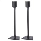 Black Wireless Speaker Stands designed for Sonos ONE, Sonos One SL, PLAY:1 and PLAY:3 Product Image