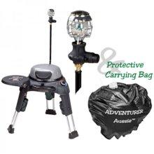 Adventurer with Side Burner, Lantern & Carry Bag
