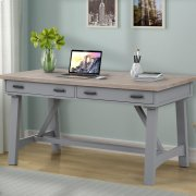 AMERICANA MODERN - DOVE 60 in. Writing Desk Product Image