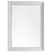 "Bristol 29"" Rectangular Mirror, Cottage White"