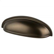 Adagio 3 inch CC Oil Rubbed Bronze Cup Pull