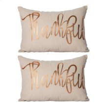 S/2 Thankful Pillow