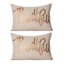 S/2 Thankful Pillow
