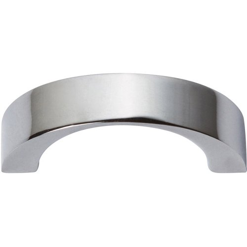 Tableau Curved Handle 1 7/16 Inch - Polished Chrome