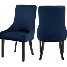 "Demi Velvet Dining Chair - 22"" W x 23.5"" D x 40.5"" H"