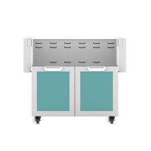 "36"" Hestan Outdoor Tower Cart with Double Doors - GCD Series - Bora-bora"