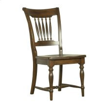 Model 21 Side Chair Wood Seat