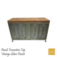 * Travertine Buffet Cabinet 1239 B
