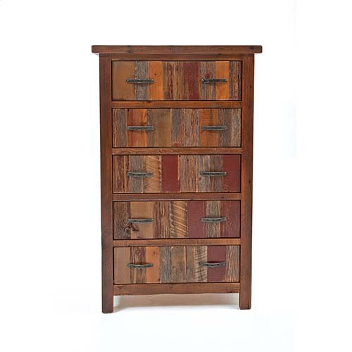 Back To the Barn - 5 Drawer Upright Chest