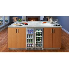 French Door Beverage Center