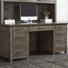 Desk/Credenza Base - Left