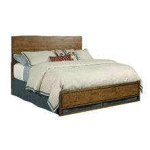 Ca King Live Edge Bed 6/6 Complete