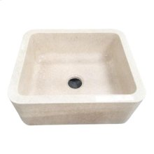 Chandra Single Bowl Marble Farmer Sink - 33""