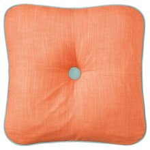 Spencer Pillow, CORAL, 18X18