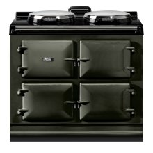"AGA Dual Control 39"" Electric Pewter with Stainless Steel trim"