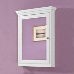 "Shaker Americana 24"" Medicine Cabinet - Polar White Product Image"