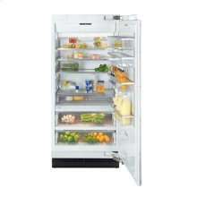 "36"" F 1901 SF Built-In Stainless Steel Freezer - Stainless steel"