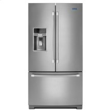 "36"" French Door Refrigerator with Fingerprint Resistant Stainless Steel Exterior - 27 cu. ft."