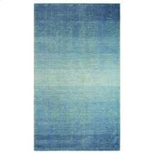 Sari Stripe Rug, BLUE, 5X8