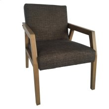 Rawley Upholstered Wood Arm Chair