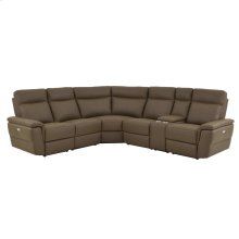 6-Piece Modular Power Reclining Sectional