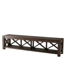 Stafford TV Console, Dark Echo Oak
