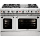 "48"" Gas Convection Range with 6 Sealed Burners 19K BTU + 12"" BBQ Grill Product Image"