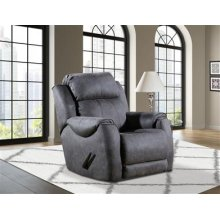 Power Recliner with Power Headrest and Socozi Massage Upgrade