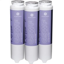 GE® GSWF3PK REFRIGERATOR WATER FILTER 3-PACK