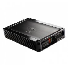 Super Efficient Class D Bridgeable 4-Channel Mobile Audio Amplifier in Black