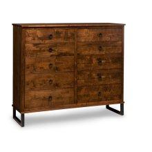 Cumberland 10 Drawer Mule Dresser