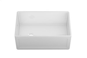 "Fira 083019 - undermount with apron front fireclay Kitchen sink , 28 1/4"" × 17 1/2"" × 10"" Product Image"