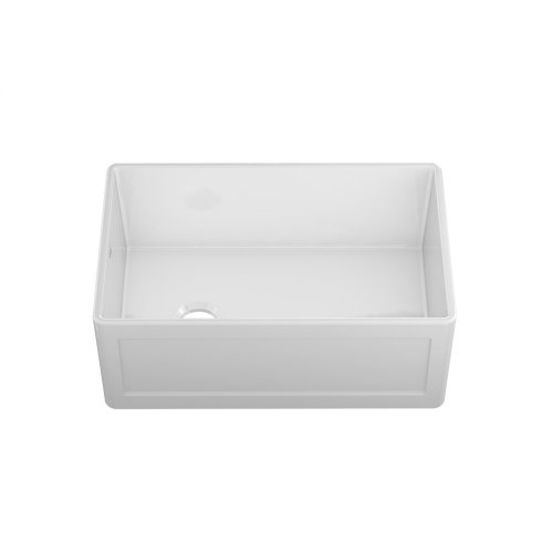 """Fira 083019 - undermount with apron front fireclay Kitchen sink , 28 1/4"""" × 17 1/2"""" × 10"""""""