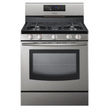 5.8 cu. ft. Freestanding Gas Range with Fan Convection