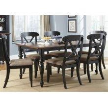 Optional 7 Piece Rectangular Table Set