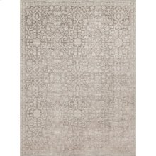 "Ella Rose Pewter Rug - 2'-7"" X 4'"