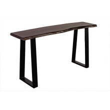 Manzanita Midnight Sheesham Console Table with Different Bases, VCS-CS58M