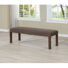 7702 Wire Brushed Dining Bench