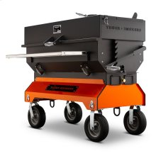 "Yoder Smokers 24"" x 48"" Adjustable Charcoal Grill on Competition Cart"