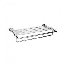 TH400 - Double Towel Shelf - Polished Chrome