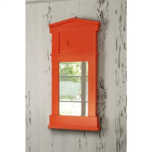 Pediment Mirror - Orange Product Image