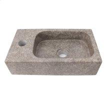 Modena Above Counter Basin - Grey Marble