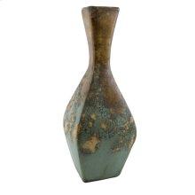 Textured Turquoise Diamond Jar